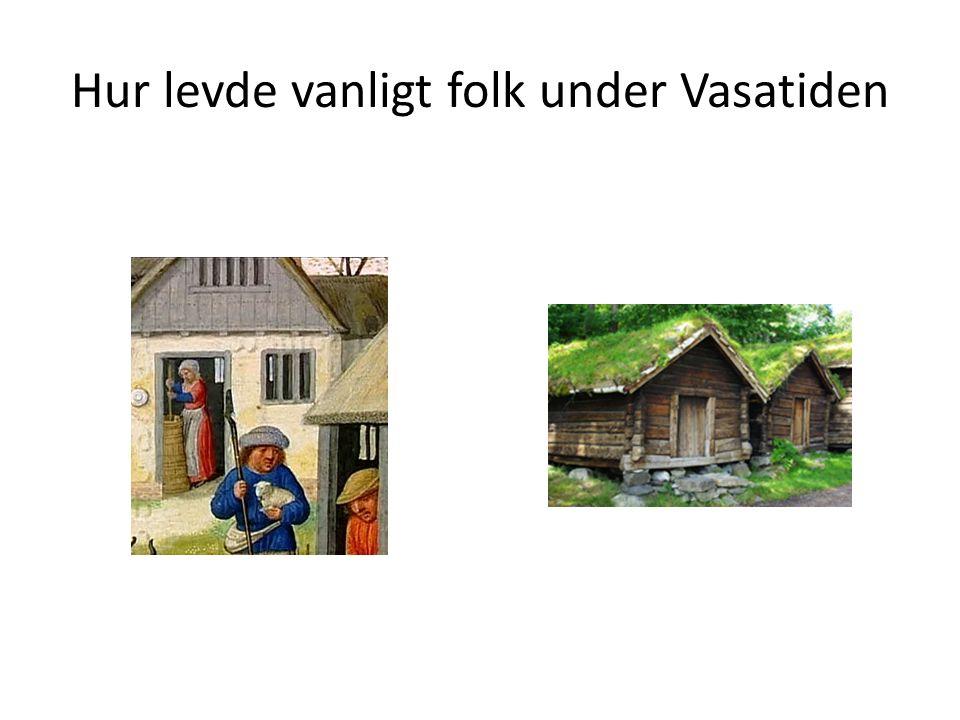 Hur levde vanligt folk under Vasatiden
