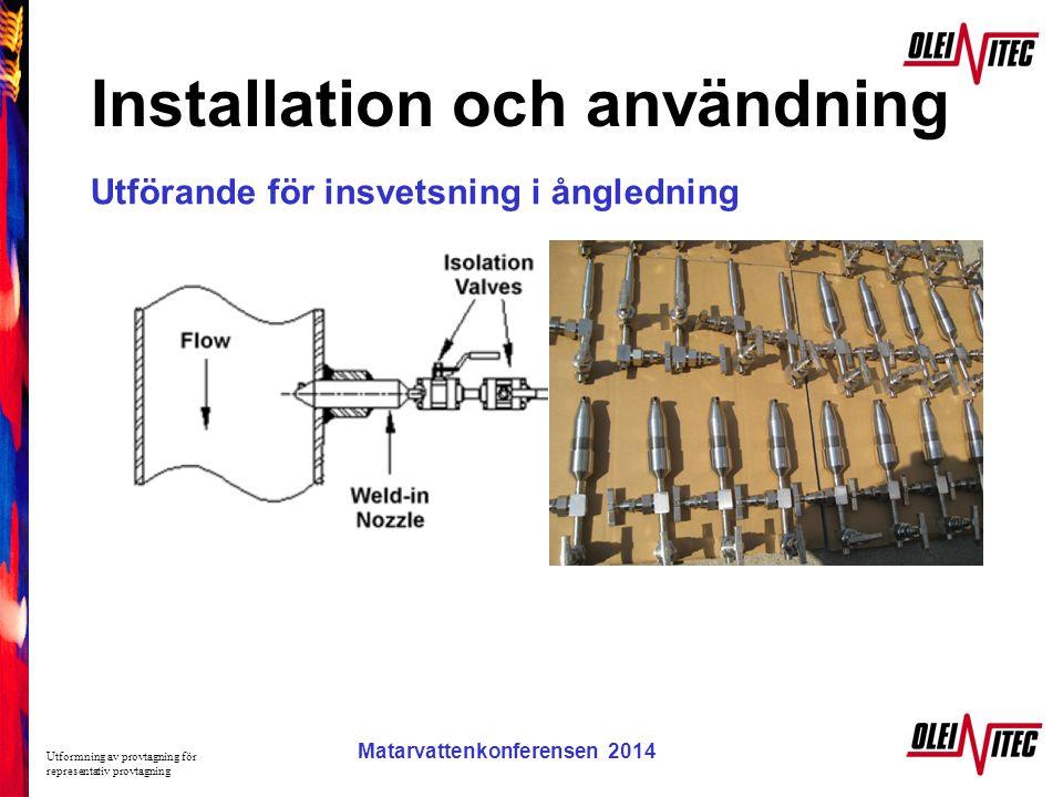 Installation och användning