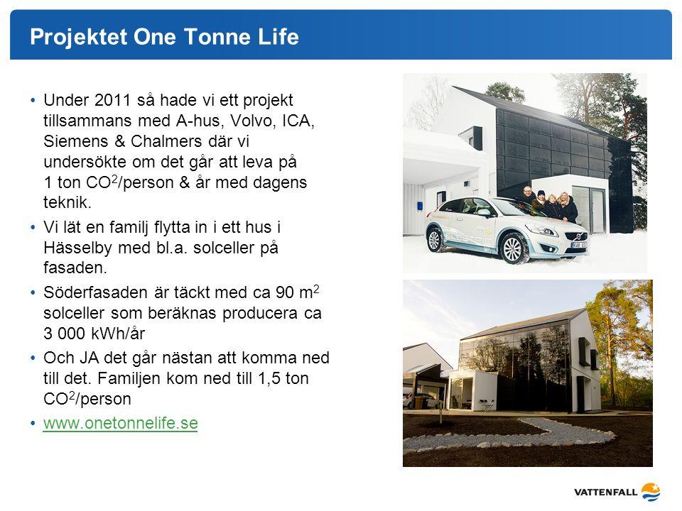 Projektet One Tonne Life