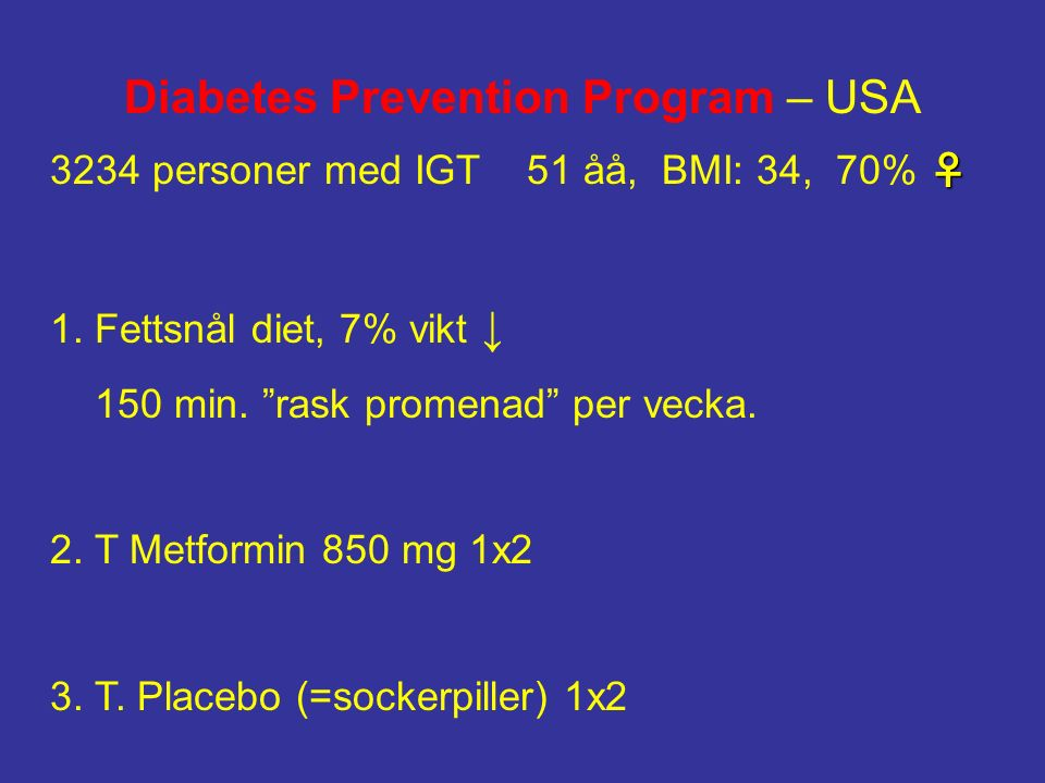 Diabetes Prevention Program – USA
