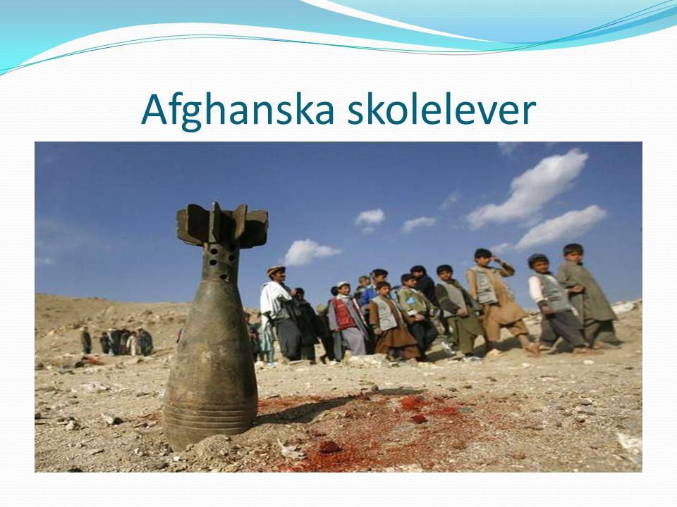 Afghanska skolelever