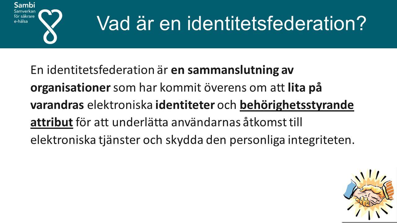 Vad är en identitetsfederation