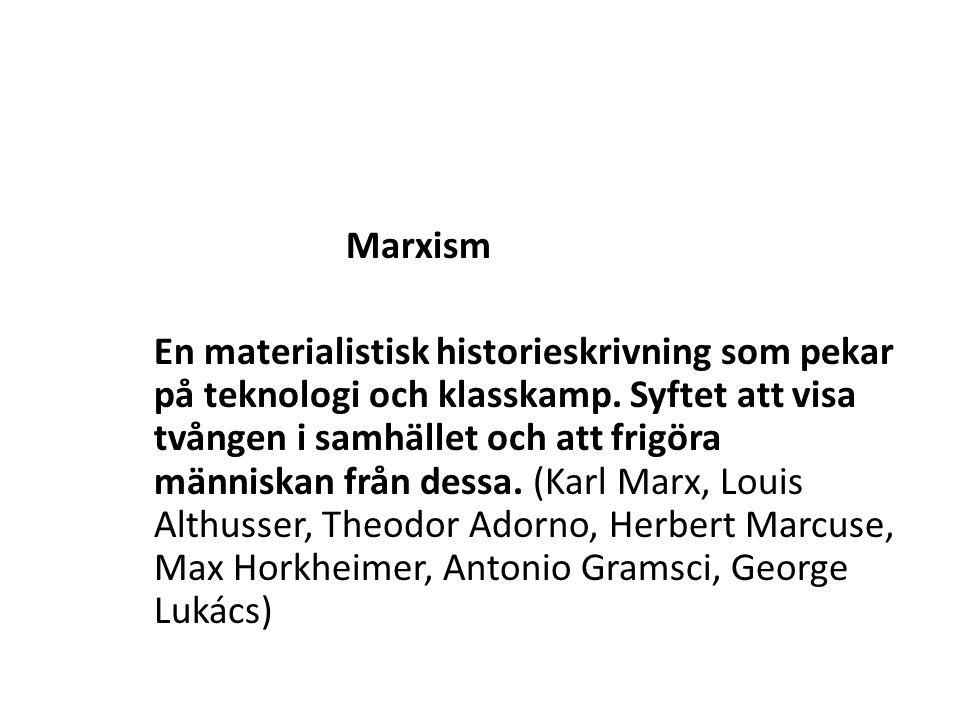 Marxism.