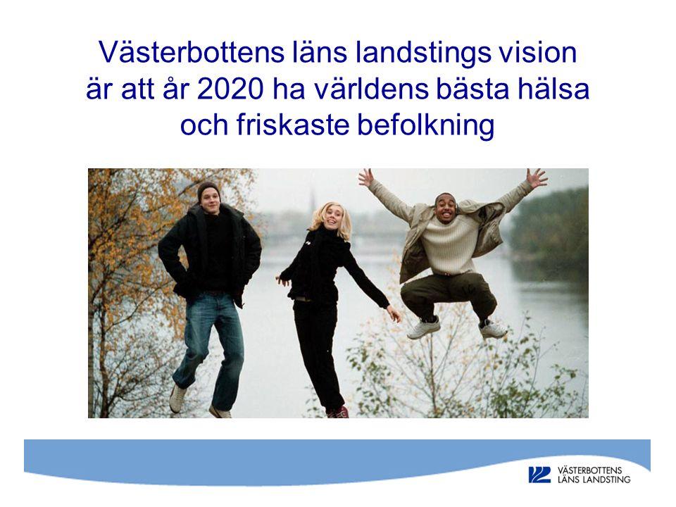 Västerbottens läns landstings vision