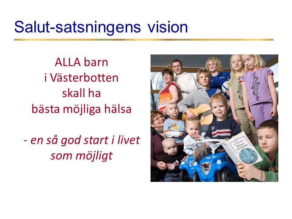 Salut-satsningens vision