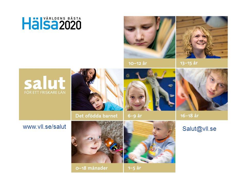 www.vll.se/salut Salut@vll.se Presentation av Salut: