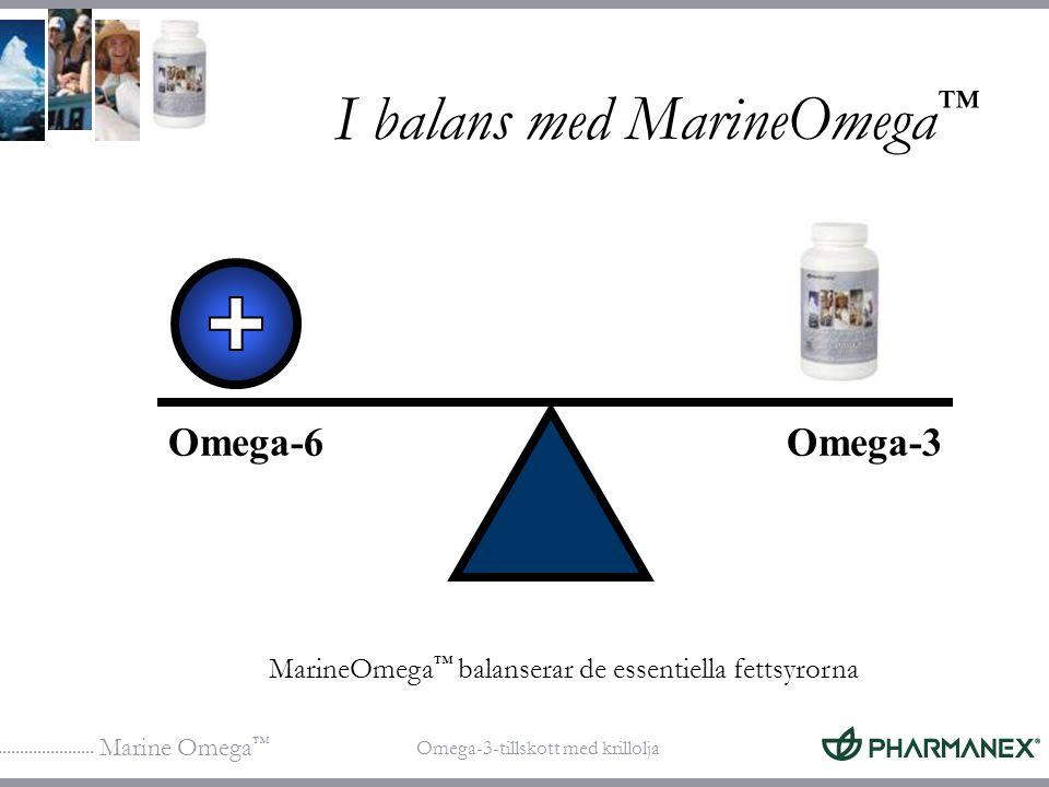 I balans med MarineOmega™