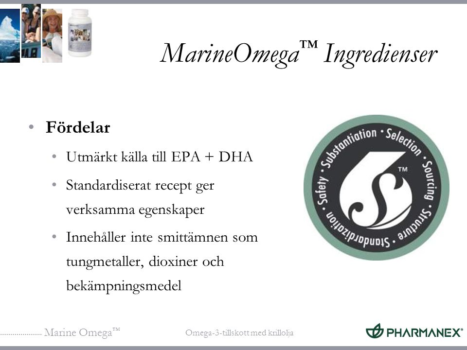 MarineOmega™ Ingredienser