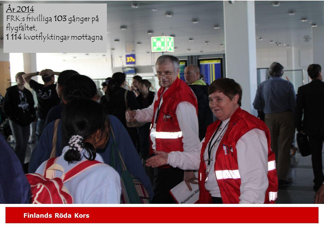 FRK:s frivilliga 103 gånger på flygfältet,
