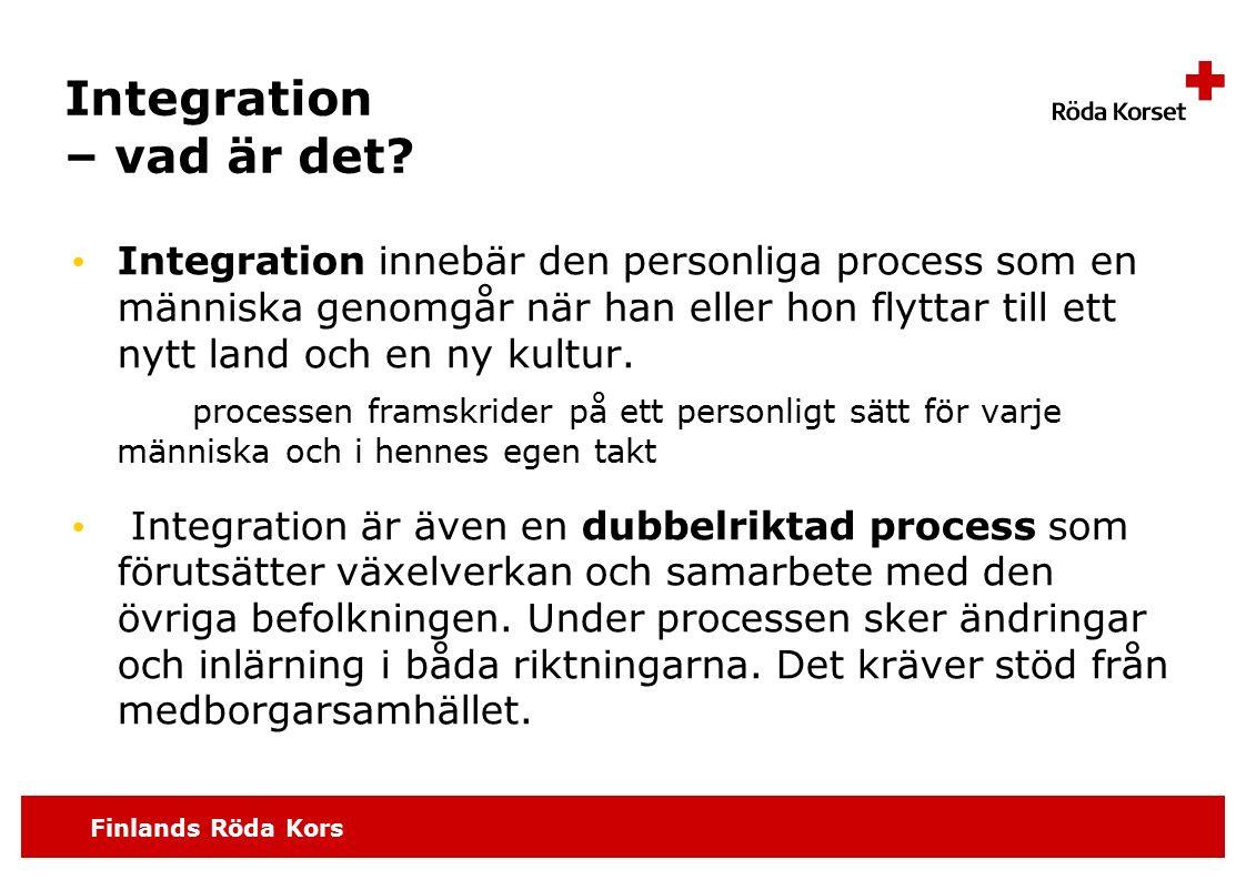 Integration – vad är det