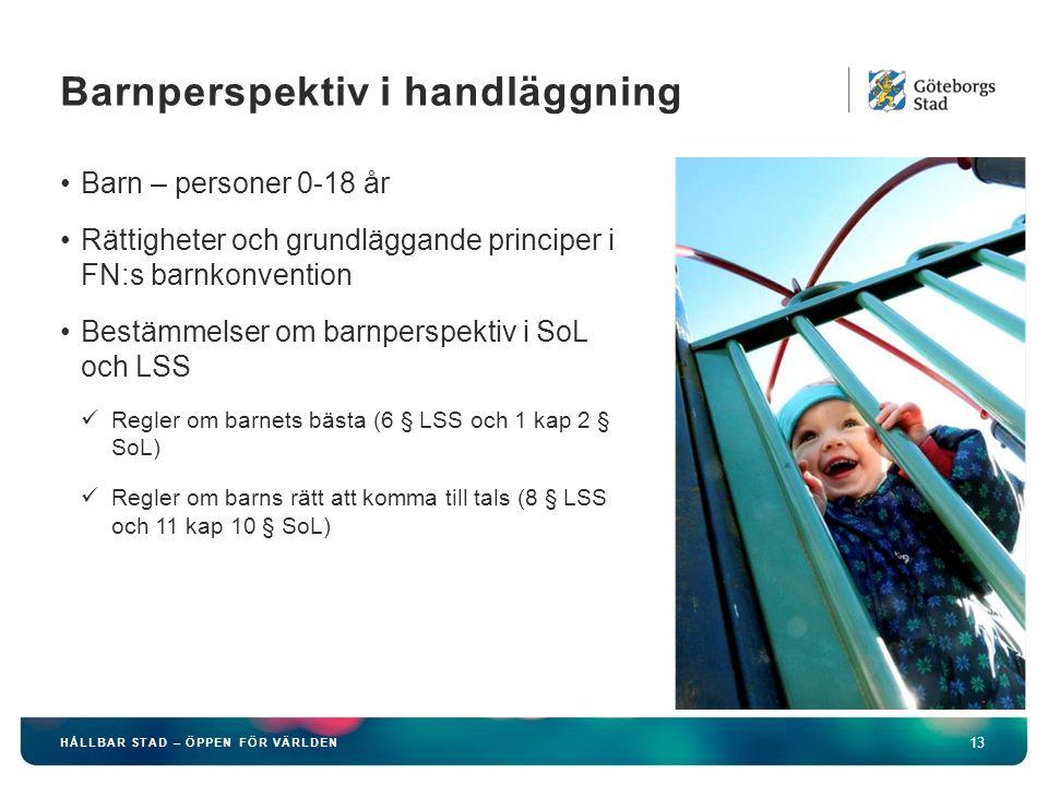 Barnperspektiv i handläggning