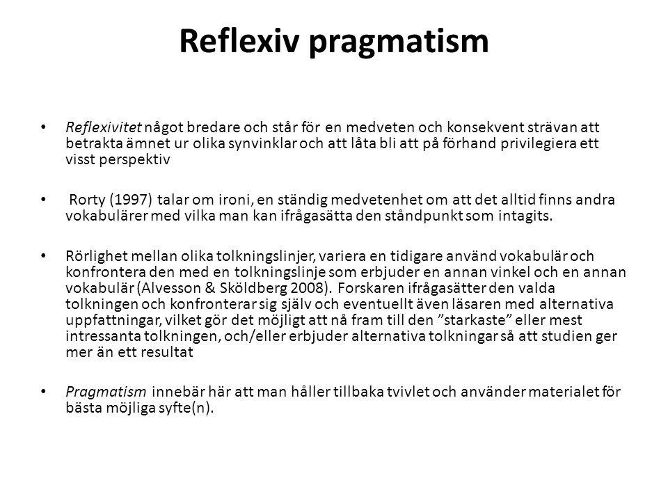 Reflexiv pragmatism