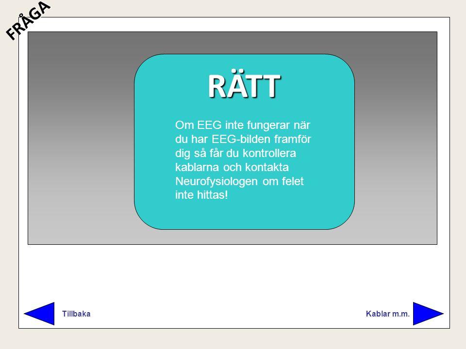 FRÅGA RÄTT. FEL.