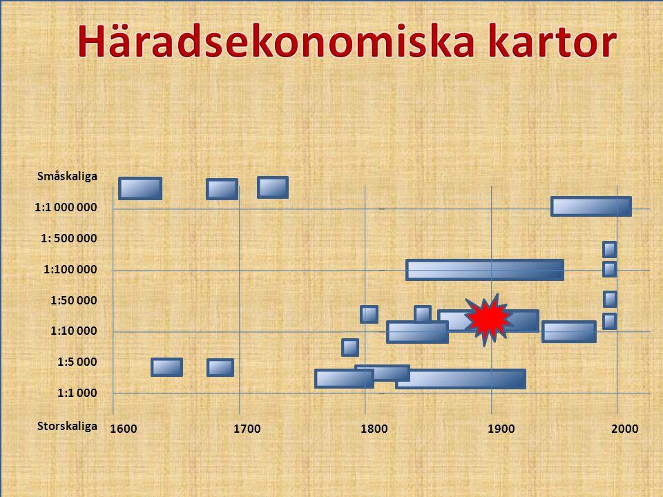 Häradsekonomiska kartor