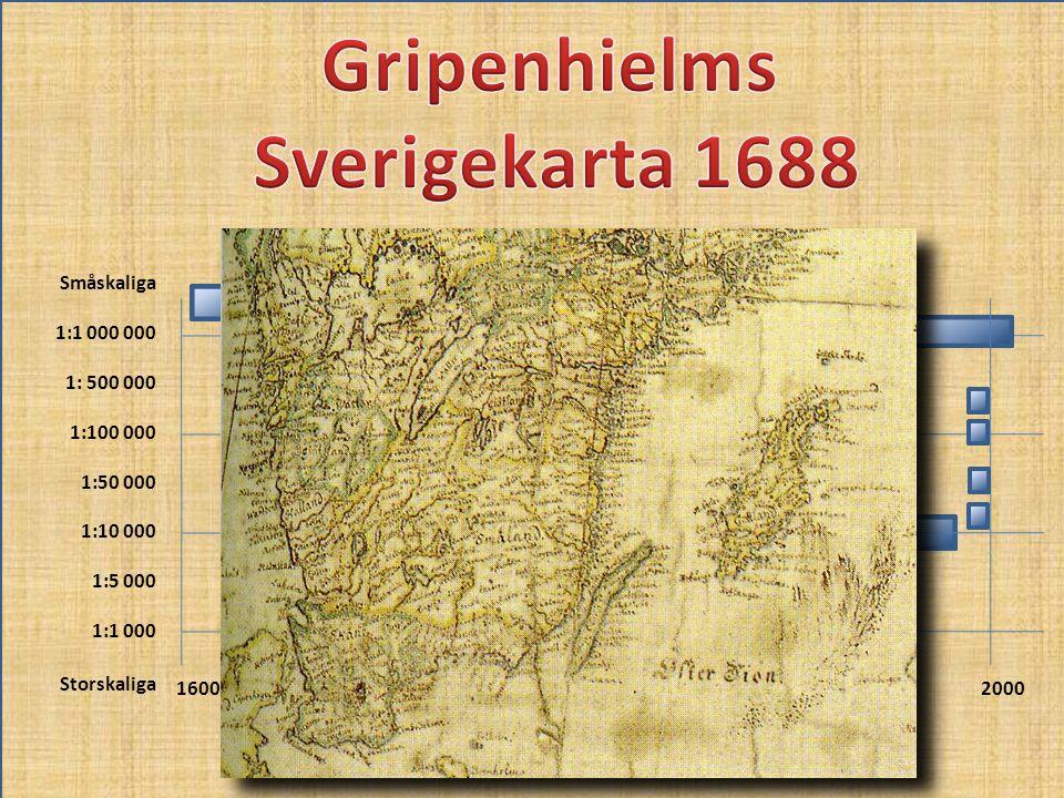 Gripenhielms Sverigekarta 1688
