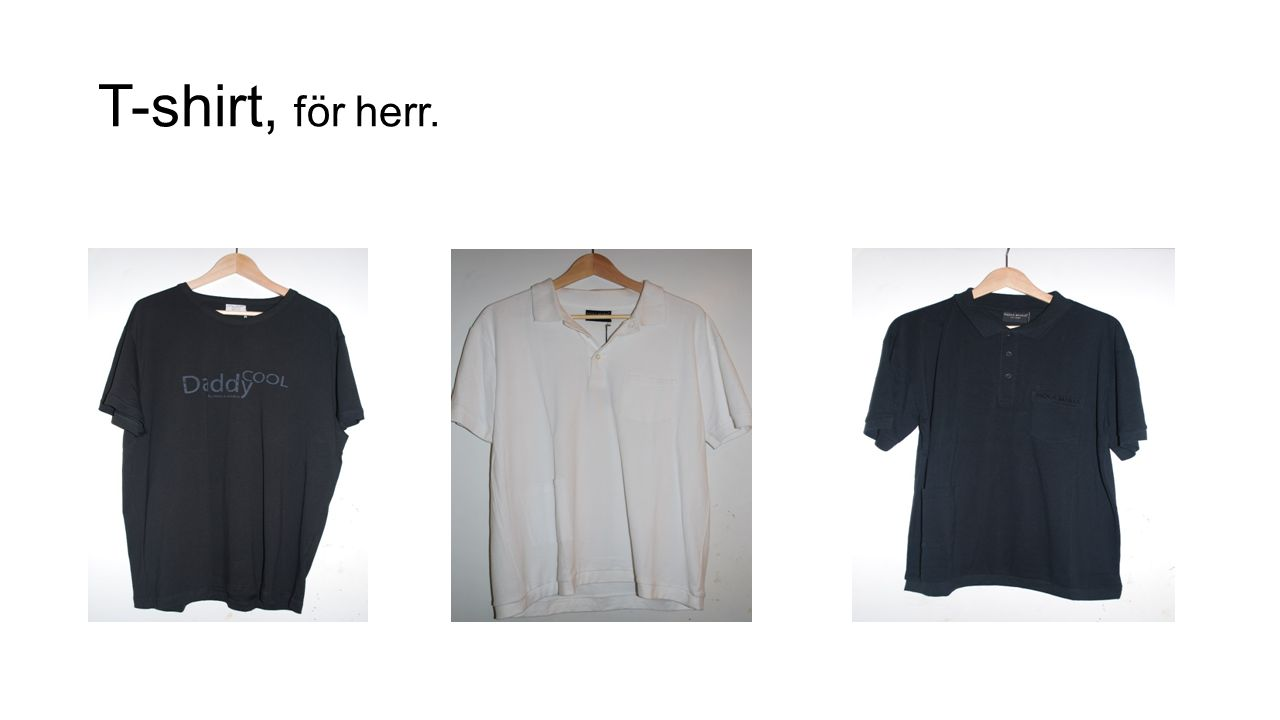 T-shirt, för herr.