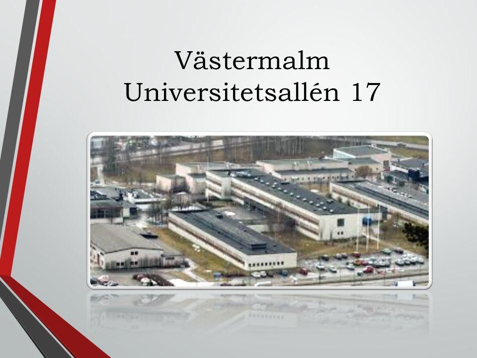 Västermalm Universitetsallén 17