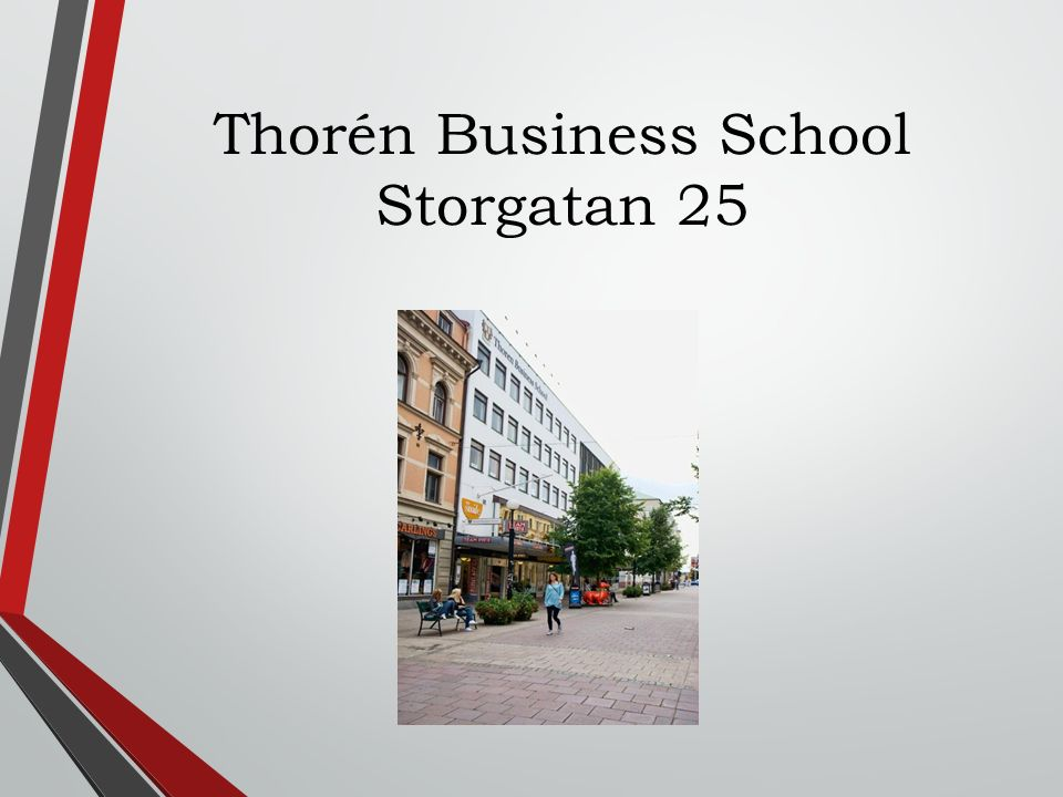 Thorén Business School Storgatan 25