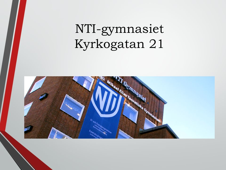 NTI-gymnasiet Kyrkogatan 21