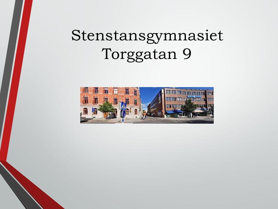 Stenstansgymnasiet Torggatan 9