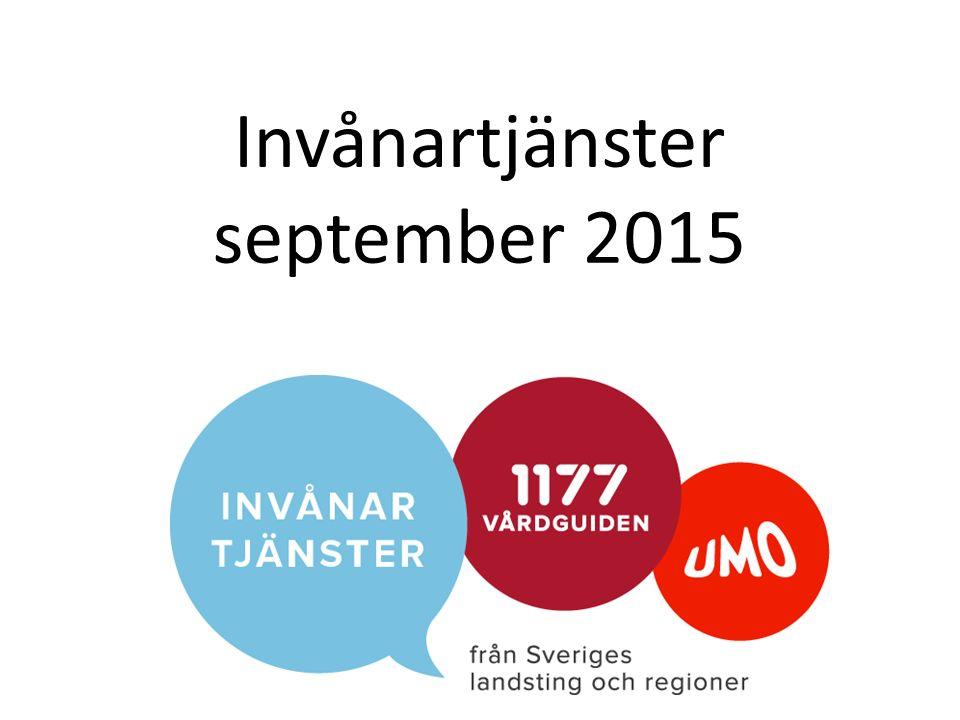 Invånartjänster september 2015