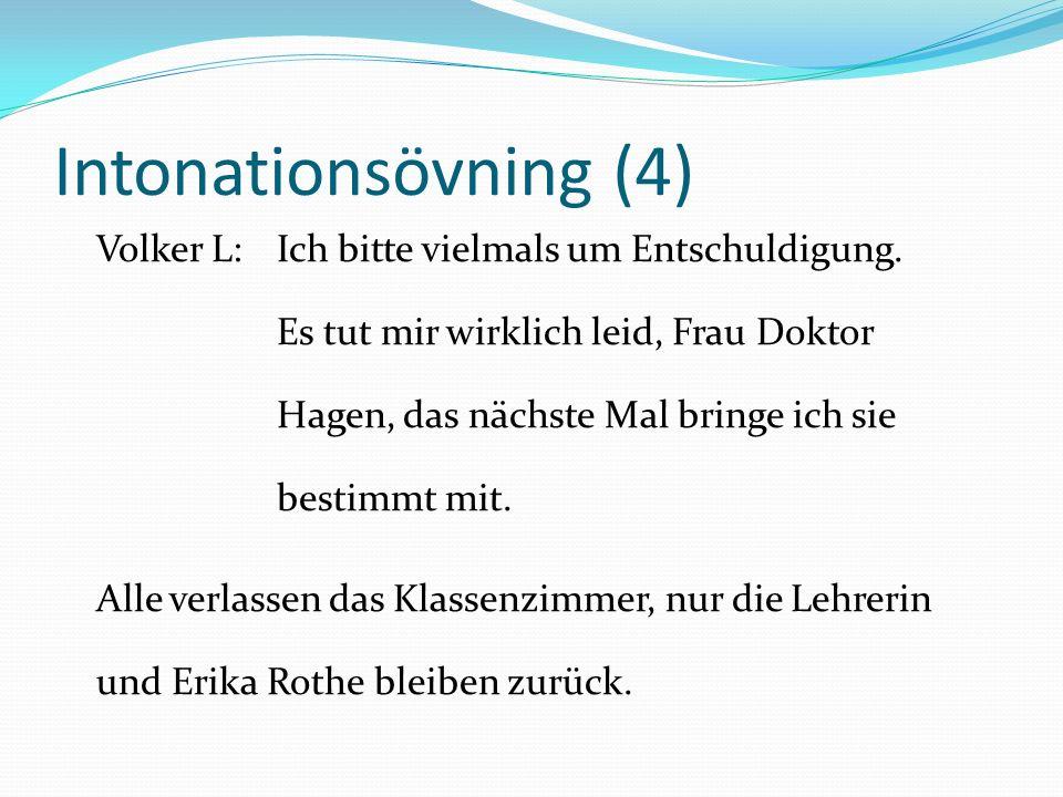 Intonationsövning (4)