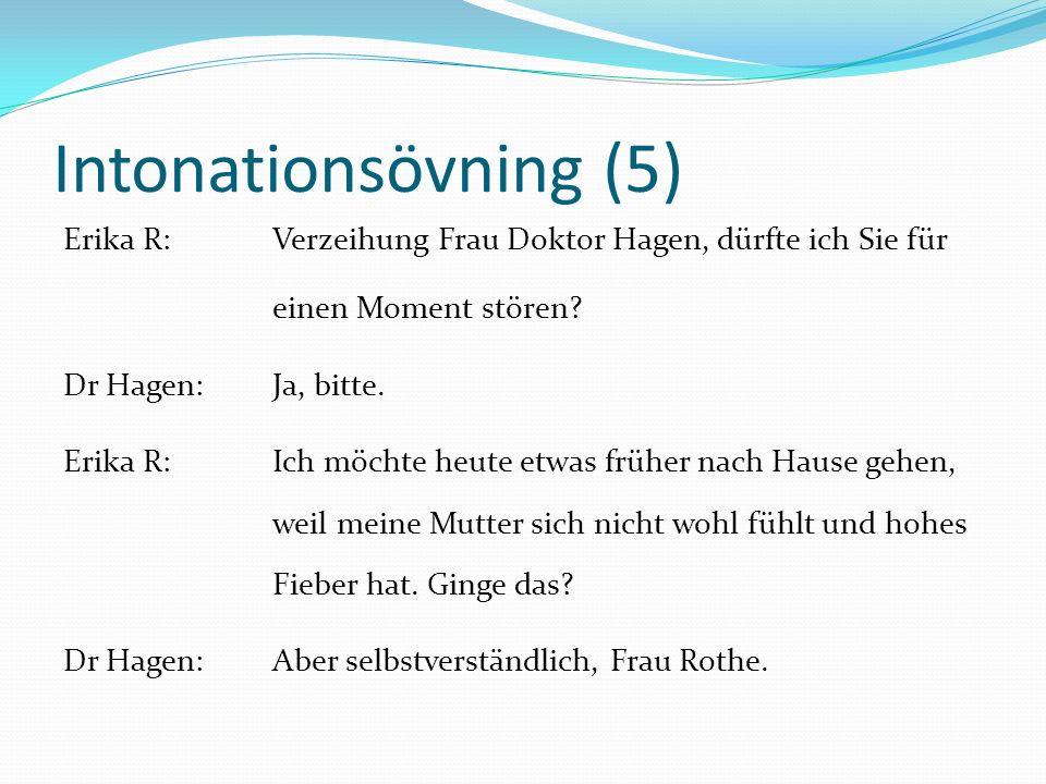 Intonationsövning (5)