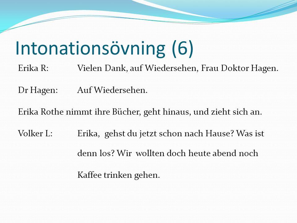 Intonationsövning (6)