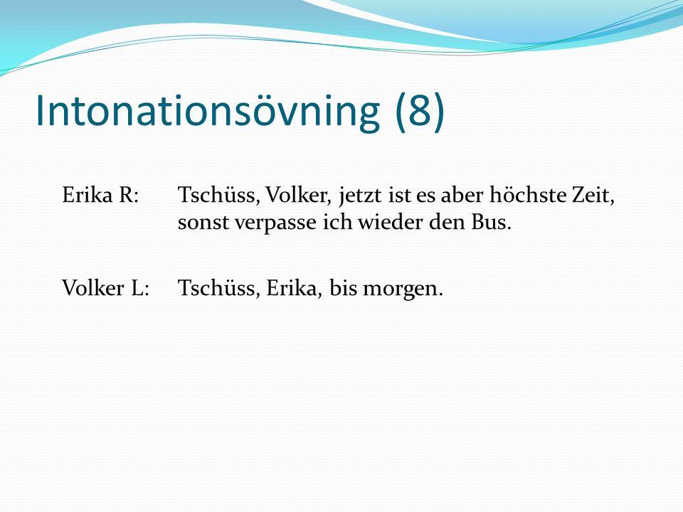 Intonationsövning (8)