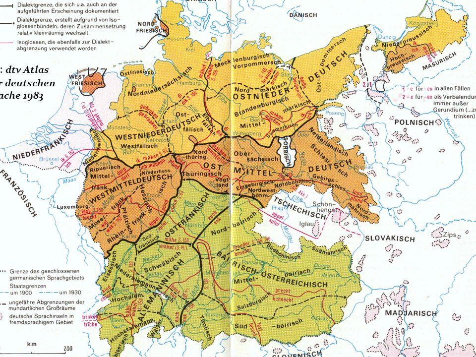 Ur: dtv Atlas zur deutschen Spache 1983