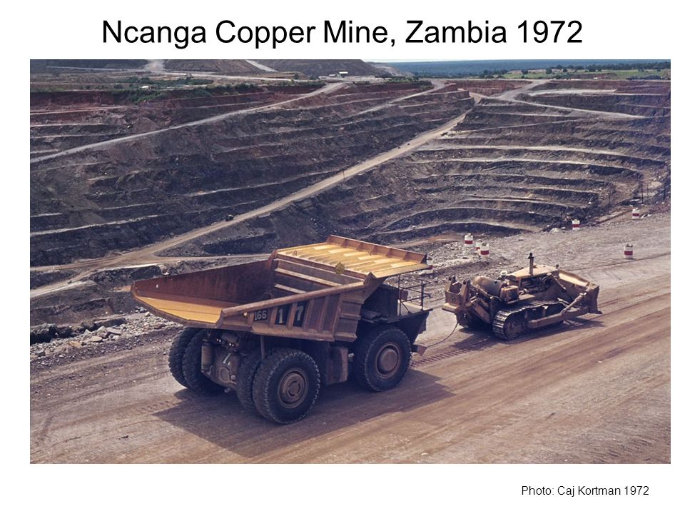 Ncanga Copper Mine, Zambia 1972
