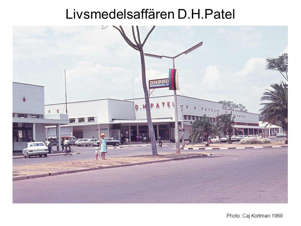 Livsmedelsaffären D.H.Patel