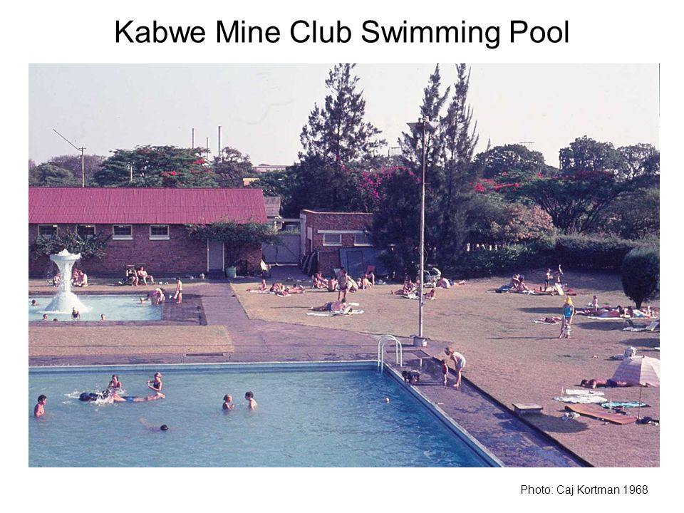 Kabwe Mine Club Swimming Pool