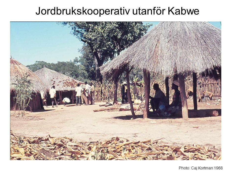 Jordbrukskooperativ utanför Kabwe