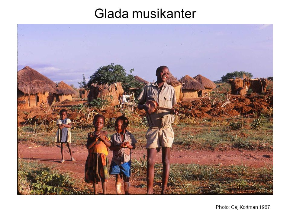 Glada musikanter Photo: Caj Kortman 1967
