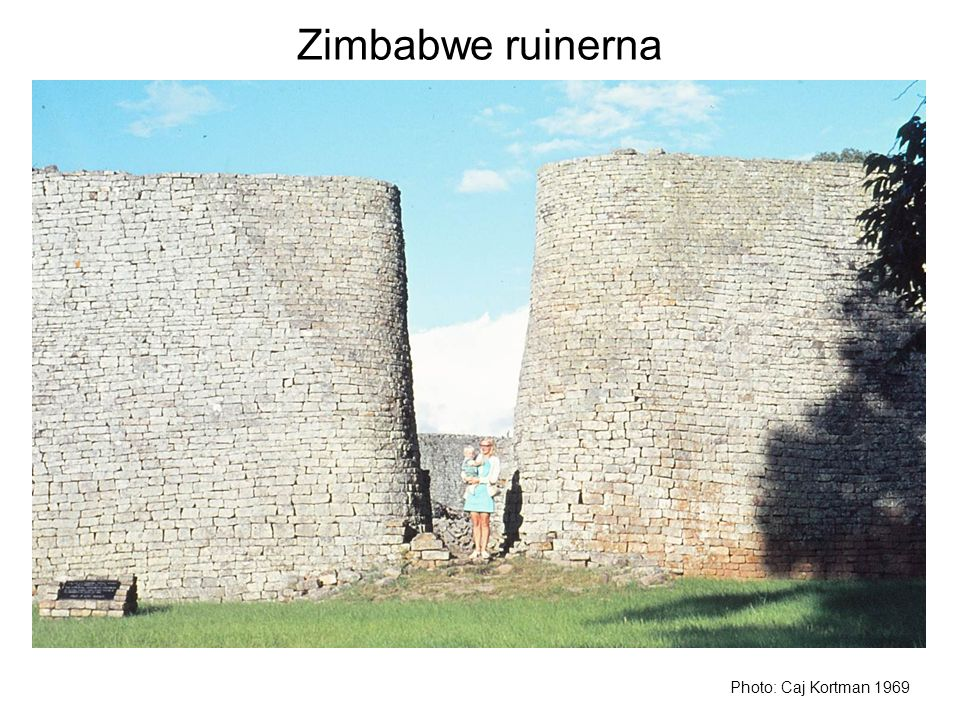 Zimbabwe ruinerna Photo: Caj Kortman 1969
