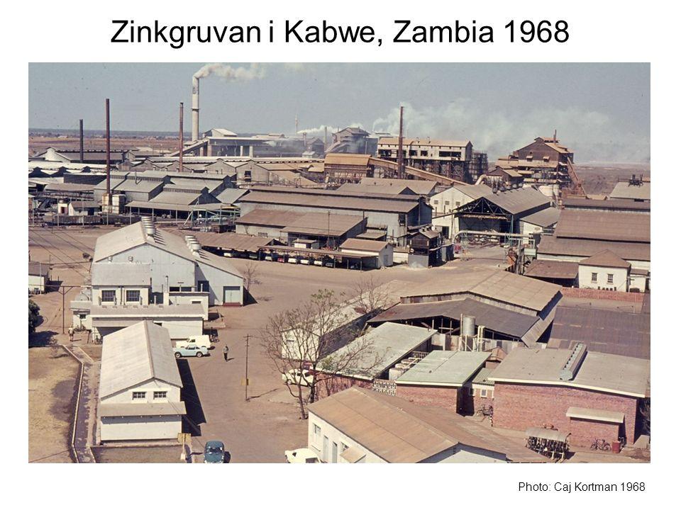 Zinkgruvan i Kabwe, Zambia 1968