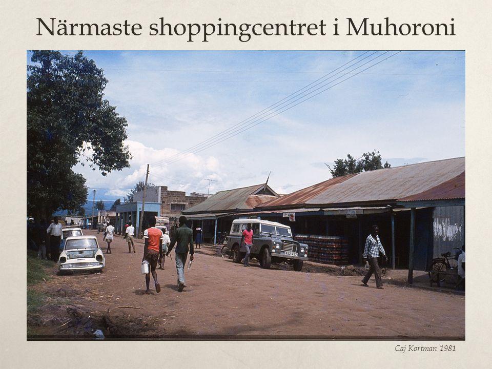 Närmaste shoppingcentret i Muhoroni