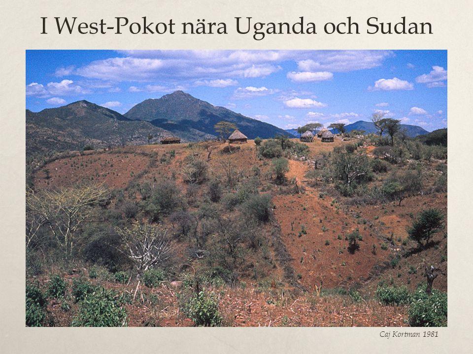 I West-Pokot nära Uganda och Sudan