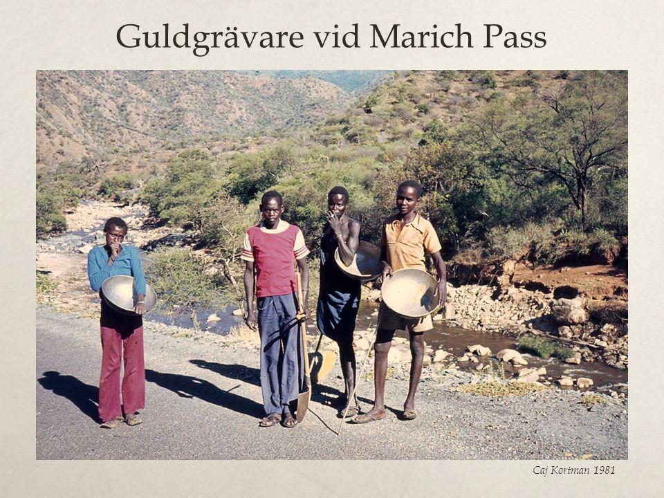 Guldgrävare vid Marich Pass
