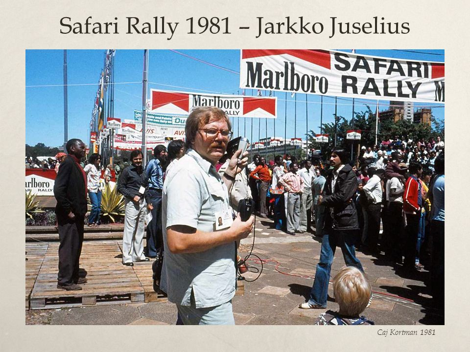 Safari Rally 1981 – Jarkko Juselius