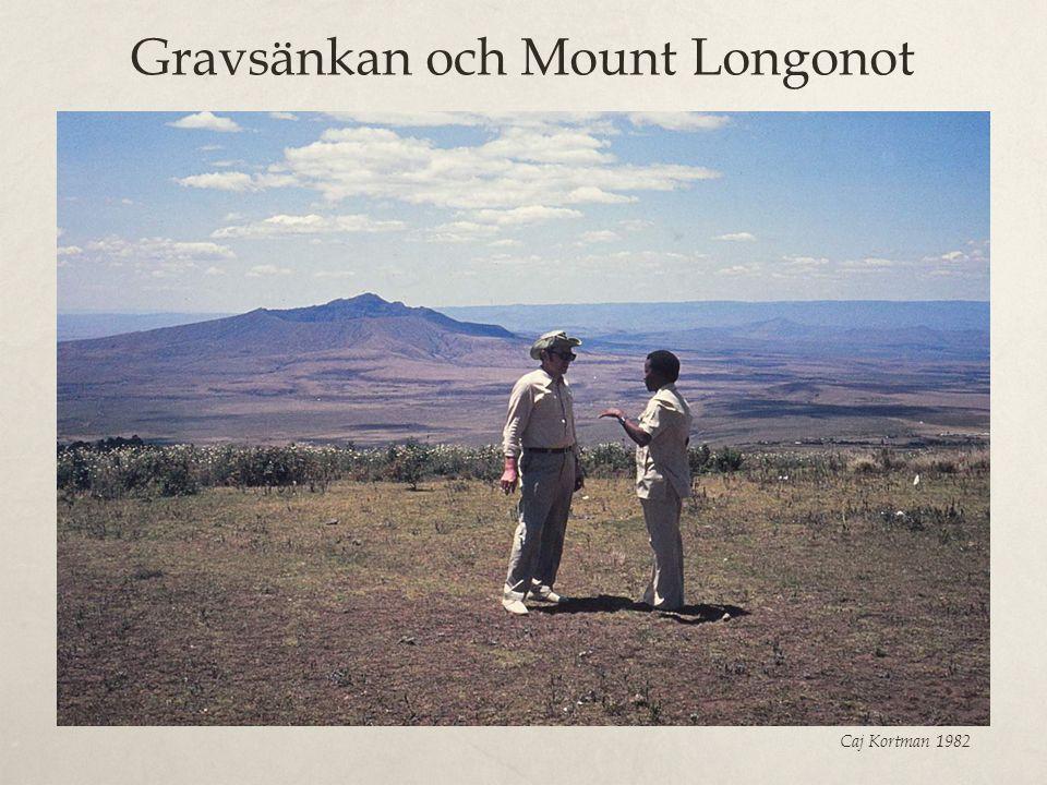 Gravsänkan och Mount Longonot