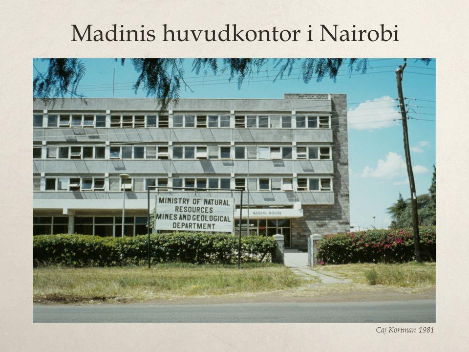 Madinis huvudkontor i Nairobi