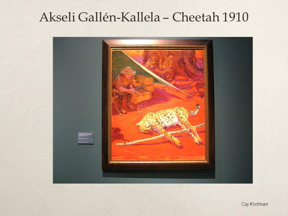 Akseli Gallén-Kallela – Cheetah 1910
