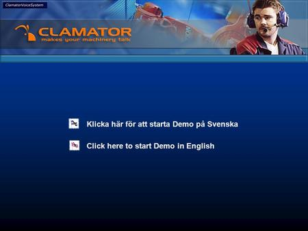 Click here to start Demo in English Klicka här för att starta Demo på Svenska It's all about efficiency.