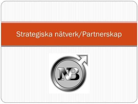 Strategiska nätverk/Partnerskap