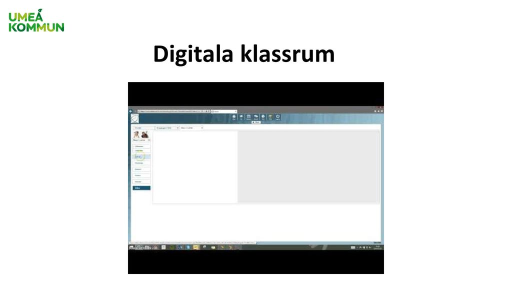 Digitala klassrum