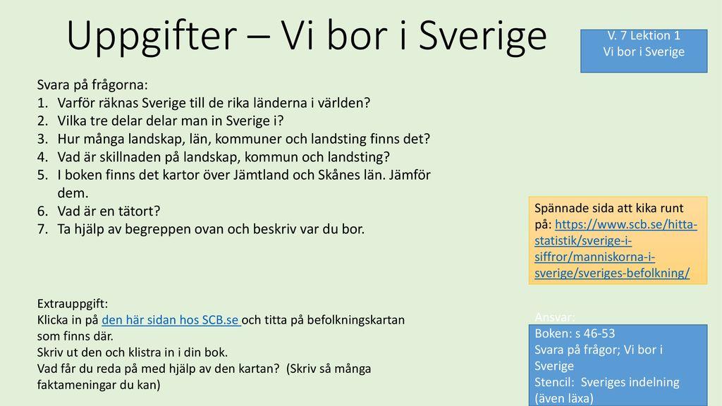 Karta Over Sveriges 25 Landskap.Vilka Lan Finns I Sverige Klippdesign