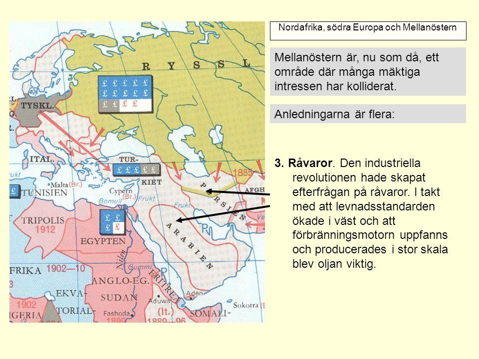 Imperialismens Epok Kartan Ar Fran Perioden Och Beskriver
