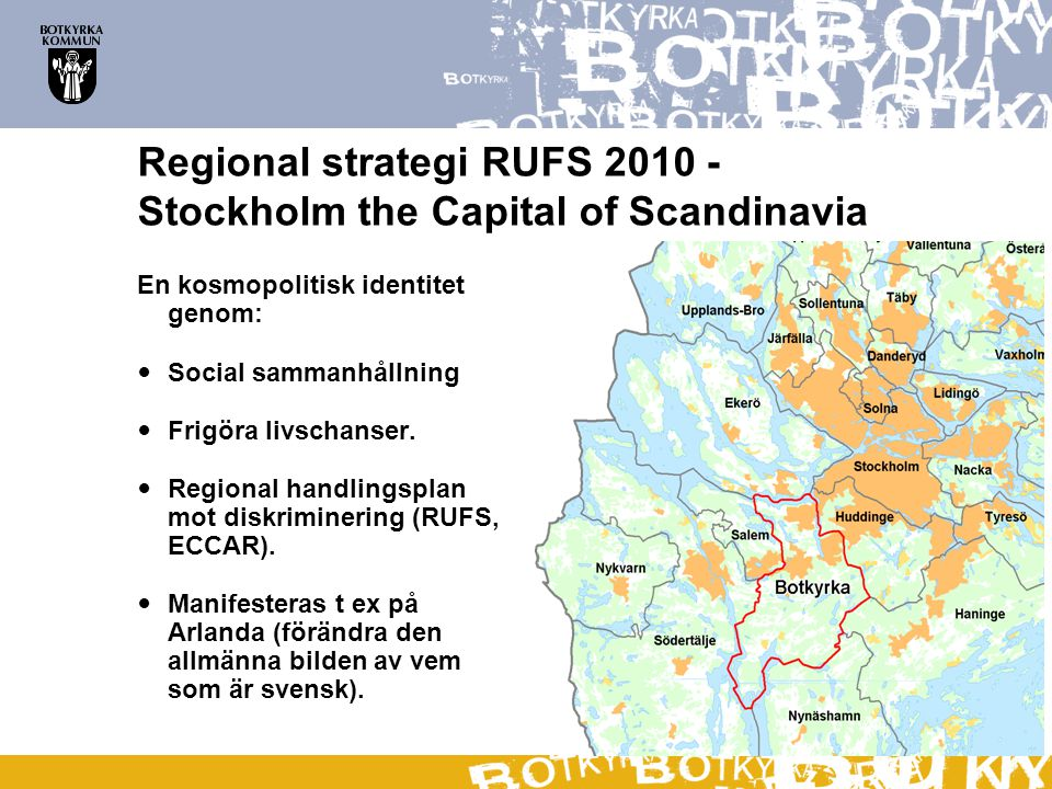 Regional strategi RUFS Stockholm the Capital of Scandinavia